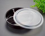 Geteilter Wegwerf-pp.-Nahrungsmittelvorratsbehälter PlastikBento Mittagessen-Kasten
