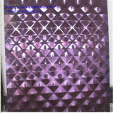 In reliëf gemaakte Grootte van het Blad van het Blad van het aisi304- Roestvrij staal Decoratieve 4 ' x8