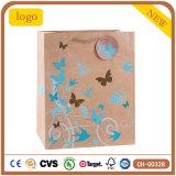 Basisrecheneinheits-Muster-Kraftpapier-Bekleidungsgeschäft-Form-Geschenk-Papiertüten