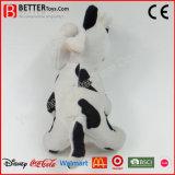 Brinquedo macio feito sob encomenda da vaca do luxuoso do animal enchido do afago para miúdos/crianças