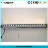 방수 18PCS 2W 옥외 LED 벽 세탁기 LED 점화