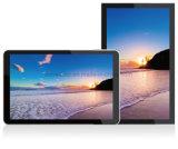 84インチの表示LCD広告プレーヤーを広告する人間の特徴をもつWiFiの屋内壁の台紙