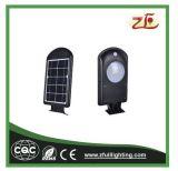 Indicatore luminoso esterno solare fissato al muro di promozione LED della fabbrica
