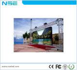 P5.95 piscina impermeável LED de cores de tela LED de aluguer