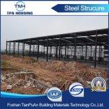 Taller modificado para requisitos particulares del marco de la estructura de acero del diseño del precio razonable para la venta