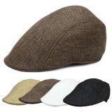 Chapeaux plats occasionnels unisexes tissés par doux/chapeau classique de LIERRE