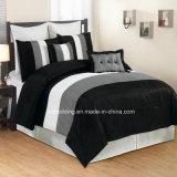 Insieme in linea stabilito 100% dell'assestamento del Comforter elegante piccolo MOQ di colore del poliestere