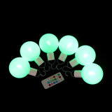 LED de Natal Luz de esferas com controle remoto
