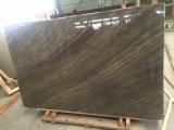 부엌을%s Kylin 나무로 되는 브라운 대리석 석판 또는 목욕탕 또는 벽 또는 지면