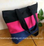 De kleurrijke Handtas van het Canvas van de Schouder van de Reis van de Zak van het Canvas van het Strand van de Strook Openlucht voor Vrouwen