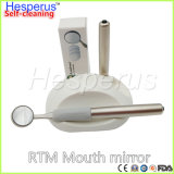 Produtos dental recargable Odontologicos anti niebla auto-limpieza dental Oral Rtm espejo boca