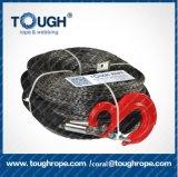 Starkes hochfestes synthetische Faser-Seil-LKW-Seil