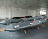 Bateau gonflable rigide de côte de bas de fibre de verre de bateau de Liya 2.4-4.2m