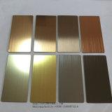201 304の価格316のヘアライン装飾的なStainlesss鋼板およびシート
