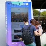 Pantalla táctil LCD exterior personalizado Signgae soporte