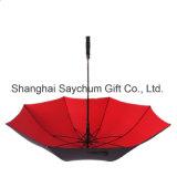 Ombrello antivento automatico di doppio strato dell'ombrello di golf