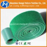 Colorido de nylon -volta gancho e presilha de retenção do fio de Velcro