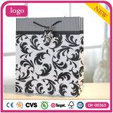 Schwarze Muster-Form-Geschenk-Kleidung bereift Spielzeug-Geschenk-Papierbeutel