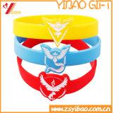L'abitudine imprime incide il braccialetto del silicone per i regali di promozione