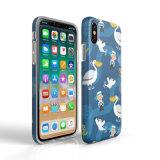 IMD Drucken-kundenspezifischer Muster-Telefon-Kasten für iPhone X