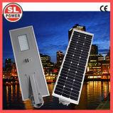 8W integrierte alle in einem LED-Solarstraßenlaternemit Batterie des Lithium-Lipo4