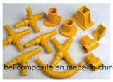 Guarniciones de la barandilla de FRP/perfiles/tubo Components//Fiberglass del pasamano
