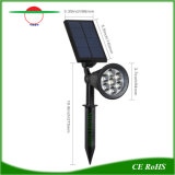 Angeschaltenes Scheinwerfer-Garten-Yard-Pfad-Rasen-Lampen-Landschaftssolarlicht