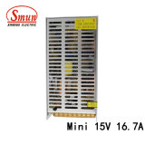 Taille Mini-250-15 Smun comme 250W 15VCC 16,7 une seule sortie SMPS