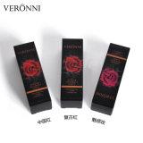 Veronni schwarzer Rose Lippenstift-3colors entfärbter Mattlippenstift