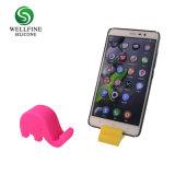 Support de téléphone mobile en silicone avec la forme d'éléphant