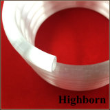 Tubo traslucido opaco bianco latteo personalizzato del tubo del quarzo della bobina