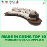Insieme di cuoio d'angolo moderno del sofà di Sectinonal di uso domestico