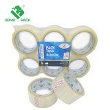 OEM Band Met grote trekspanning van de Verpakking BOPP van het Karton van de Sterkte de Enige Opgeruimde Duidelijke Zelfklevende