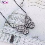 2018 유행 나비 펀던트 Foxi 보석은 목걸이를 디자인한다