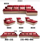 Mobilia della camera da letto - mobilia domestica - base di sofà d'avanguardia del tessuto
