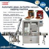 Automatisches Glasglas-Vakuummit einer kappe bedeckende Maschine für Tomatensauce (YL-160)