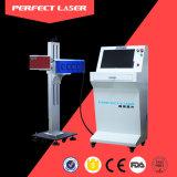 Laser de CO2 máquina de marcação a laser perfeita para frascos de plástico (PEDB-C30)