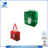 四色刷のMewestのキャンバスのショッピング・バッグ