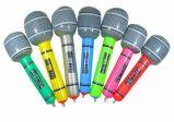 Instrumentos musicales del PVC del micrófono inflable del juguete