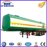 50cbm de camion-citerne aspirateur remorque d'essence et d'huile semi