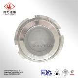 Dn100 tipo sanitario vidrio de la unión del acero inoxidable SS304 de vista