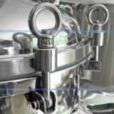 Machine émulsionnante de vide crème cosmétique élevé sanitaire de cisaillement