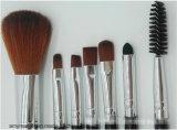 La cara y los ojos de Kylie mojaron las herramientas cosméticas del maquillaje del cepillo del kit 7PCS Kylie del cepillo del maquillaje del polvo