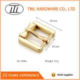 亜鉛合金の小さい卸し売り安い共通の旧式な黄銅はバックルに蹄鉄を打つ