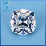 6.6X6.5mm Square Cushion Antique Old Undermines Cut Moissanite for Vintage Moissanite Jewelry