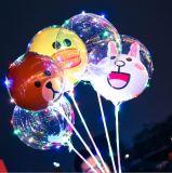 De Transparante Ballon van de Ballon van de Bel van het Beeldverhaal van de Decoratie van Kerstmis
