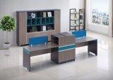 2 sièges bleu combinaison de mélamine mobilier moderne Table Worktation