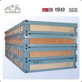 Flexible modificar la casa prefabricada del envase modular del emparedado para la venta con la decoración