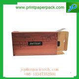 Boîte-cadeau de papier de empaquetage d'impression de commerce électronique fait sur commande de portable