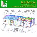 南アフリカ共和国のプレハブの家か使用されるオフィスのための鉄骨構造のPrifabの軽い家またはカスタマイズされたEPSサンドイッチパネルの移動式家